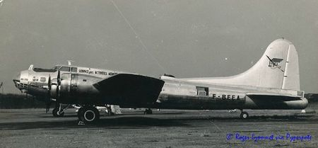 B-17 F-BEEA Baptème yaoundé decembre 1969