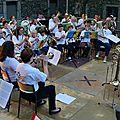 Concert de 40 cuivres avec les ambrassadeurs