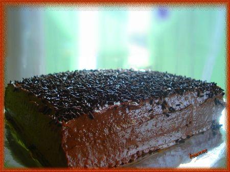 gâteau petits brun chocolat