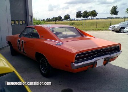 Dodge charger coupé special édition de 1969 general lee (Brienne le chateau) 02