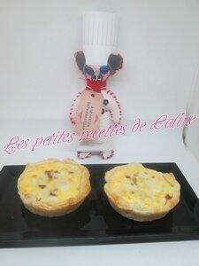 Tartelettes au jambon de Savoie et fromage25