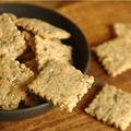 Crackers multi graines & huile d'olive pour rillettes et autres dips