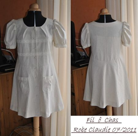 Robe Claudie - juillet 2011