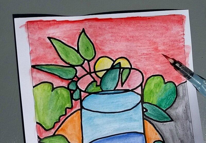 253_Compositions abstraites_Les poissons de Matisse (21)