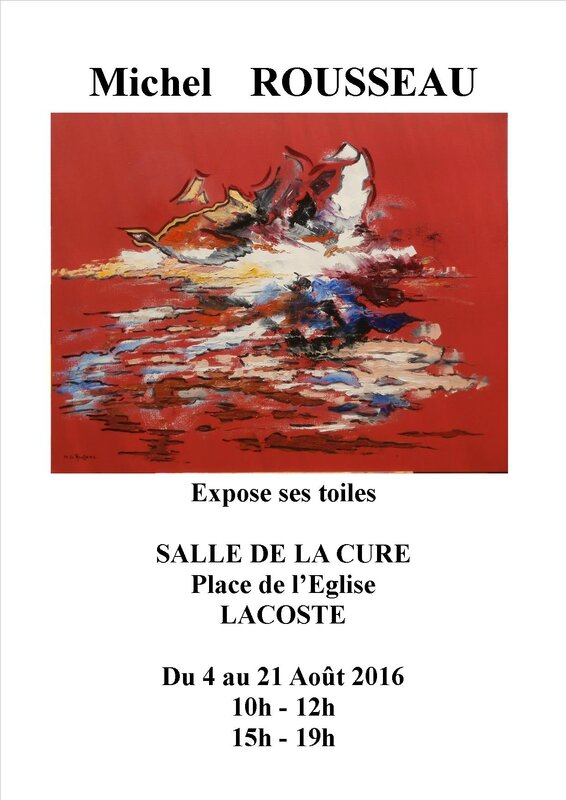 affiche expo Lacoste 2016