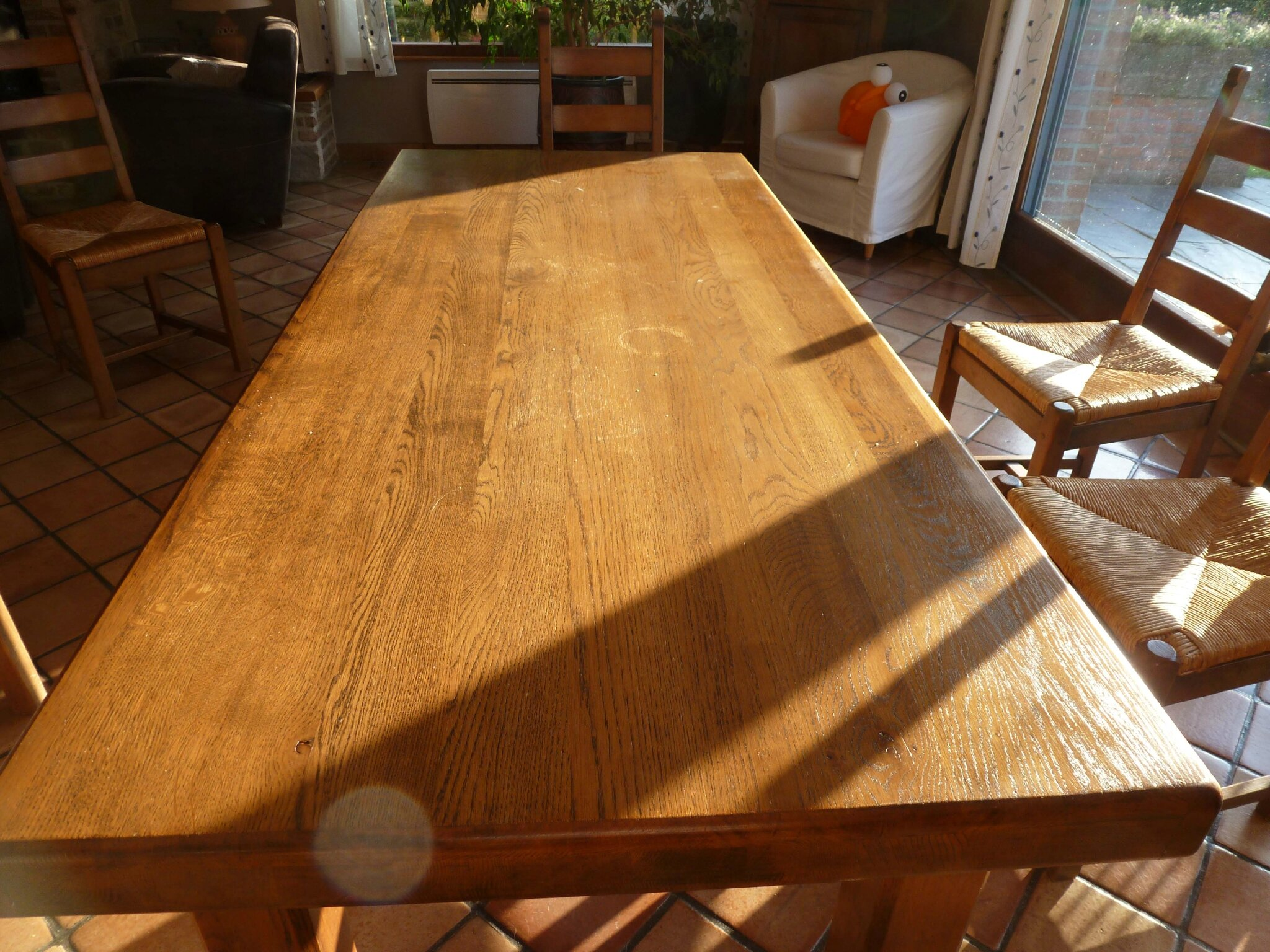 Restaurer Une Table En Bois