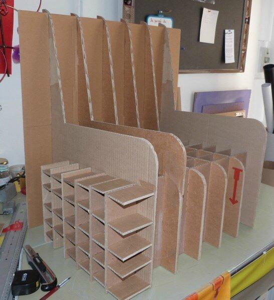 fauteuil en carton exoticcreation. Black Bedroom Furniture Sets. Home Design Ideas