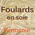 Soie - Foulards carrs.