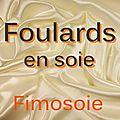 Soie - Foulards carrés.