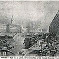 ancien Nantes - Vue vers le Bouffay