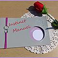Faire-part mariage, parme et gris
