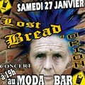 Affiche du concert rock Orion & The Lost Bread Samedi 27 janvier