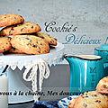 Cookie's croustillants & moelleux
