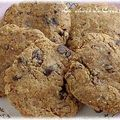 Cookies vegan  la farine de noisettes et pure d'amandes