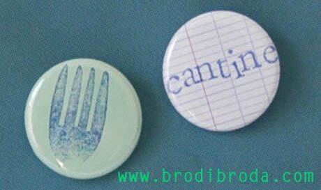 Brodi Broda-pense bête badge personnalisé cantine4