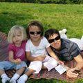 Mes filles et moi, printemps 2007