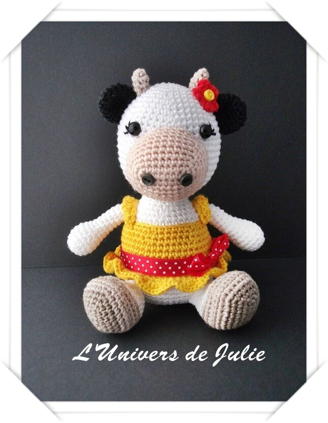 Vache Little Muggles L'Univers de Julie