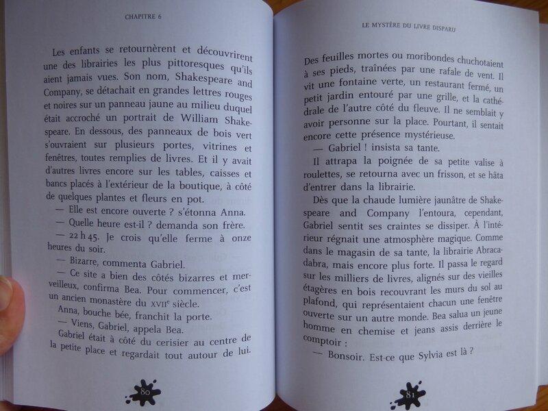 Le mystère du livre disparu (2)