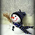 Bonhommes de neige, la famille s'agrandit