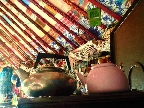 bouilloire sous la yourte yurtao