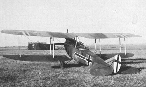 Photo Avion Rumpler C IV