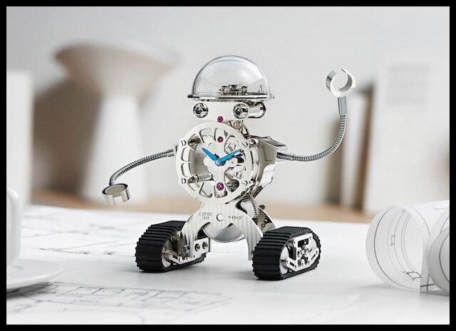 mb et f sherman horloge robot palladium 1