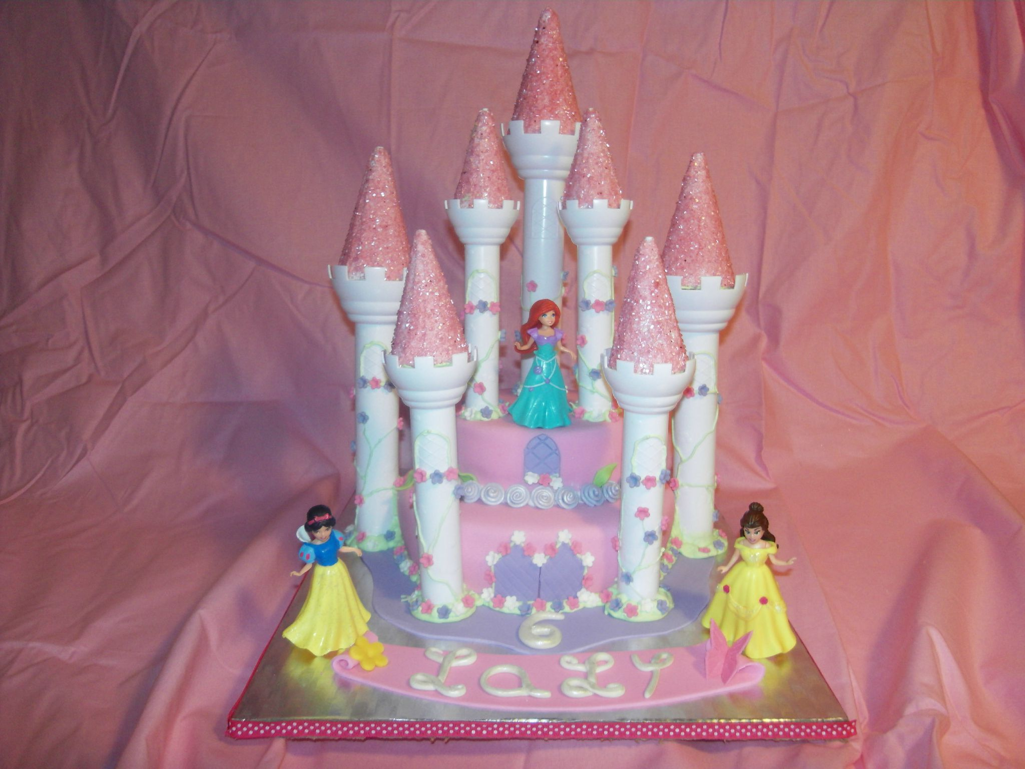 Gateaux princesse disney for Image chateau princesse
