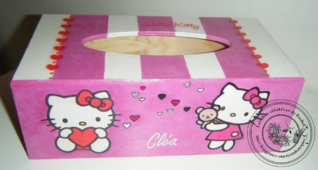 152-bmouchoirs hello kitty