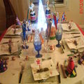 Ma table du jour de l'an 2009