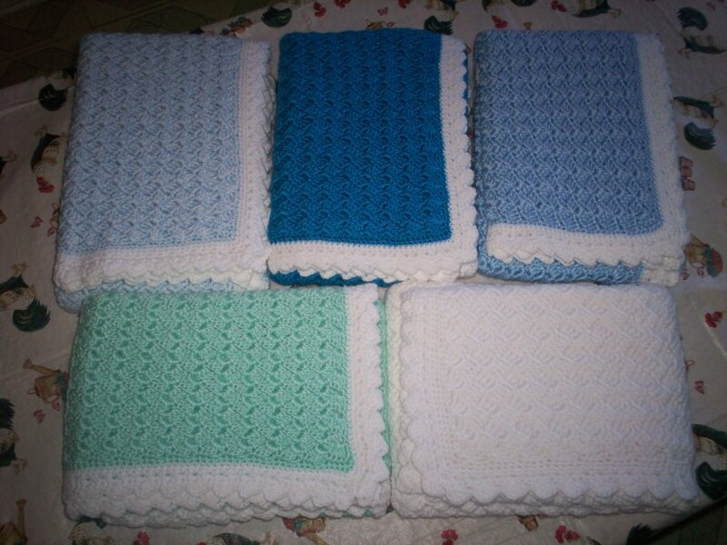 Couvertures au crochet