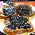 Le pain perdu au sirop de myrtille de lynette scavo