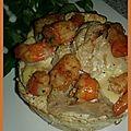 🌟 [recette] gratin de chou-fleur aux crevettes / lasagnes au saumon et aux épinards