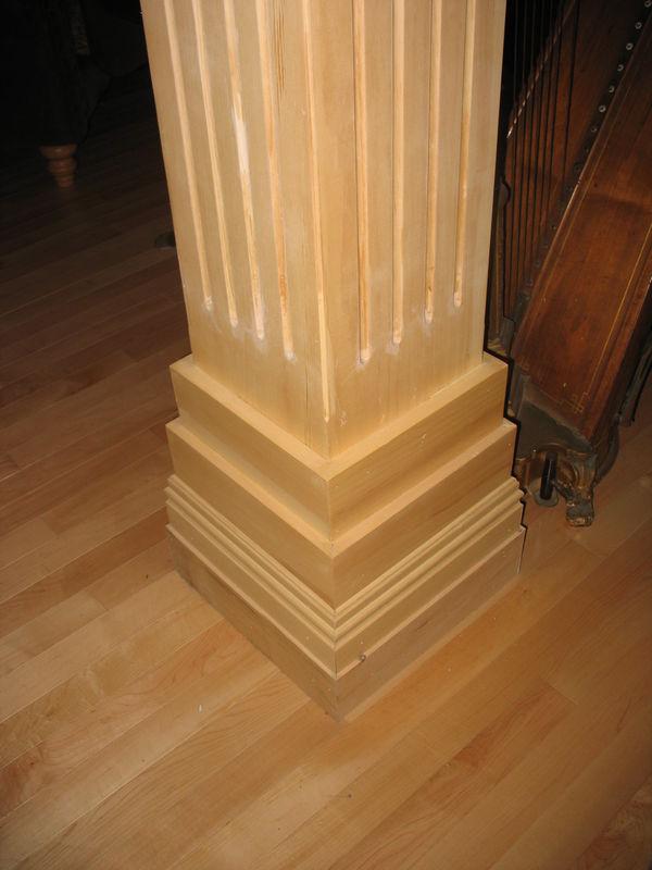 R novation et restauration d 39 un immeuble a logement 2 r novation mich - Recouvrir poutre bois ...