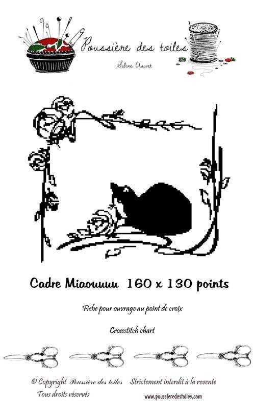 cadre miaou