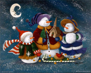JMC0105_Snowman_Collection_III_Posters