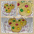 Cookies aux M§M's