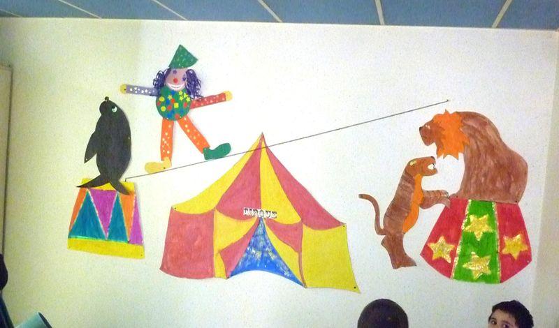 Expo suite à la sortie au cirque!