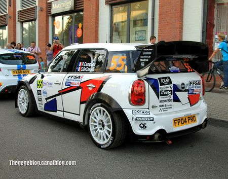Mini John Cooper Works n°55 (Campana Decastelli)(Rallye de france 2011) 02