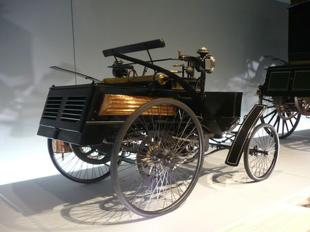 BENZ Motor Velociped 1894 Stuttgart (2)