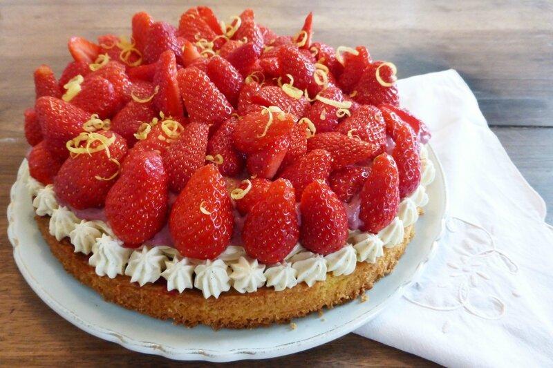 TArte fraises vanille sablé breton 2 - publi