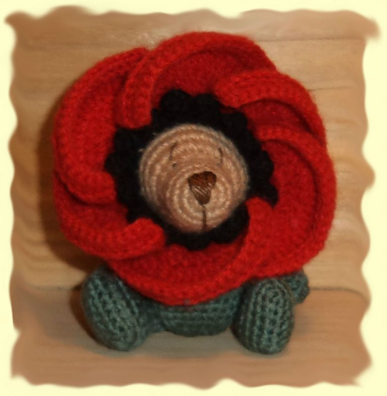 ours coquelicot