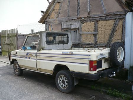 ARO Pancho 4x4 pick-up Ergersheim (2)