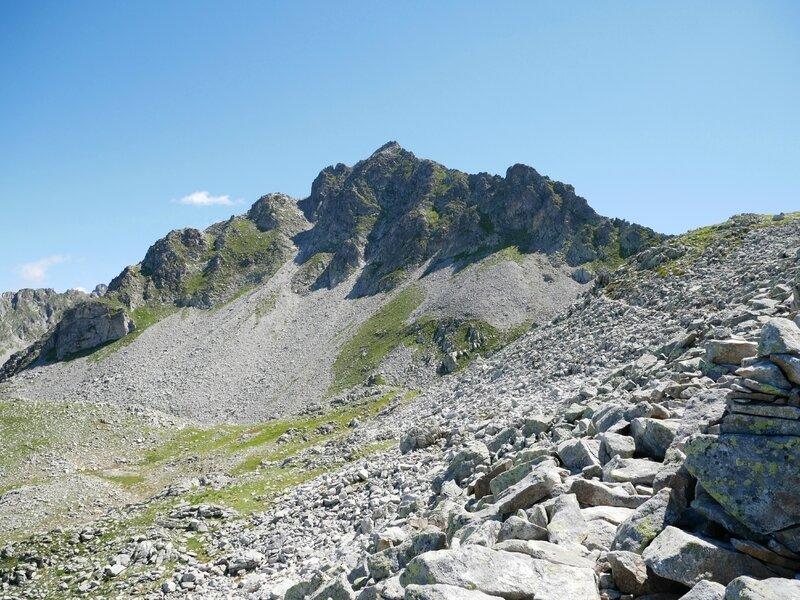 vers le Col de Sarvatan, Gros Vilain
