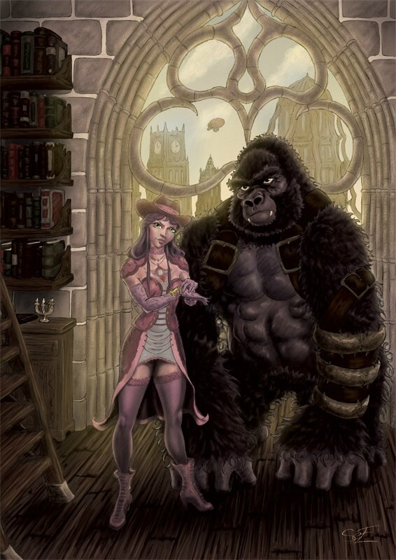 the-girl-and-the-gorilla