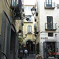 Rue typique de Salerne