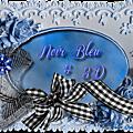 Noir bleu....et 3d