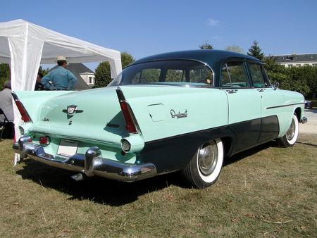 DESOTO Diplomat Deluxe 4door Sedan 1956 American Car Festival ACCF Ecquevilly 2009 4