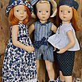 Indigo pour petites poupées