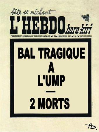 Bal tragique à l'UMP