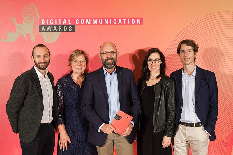 Frederic Fougerat DIGITAL COMMUNICATION AWARDS 2016